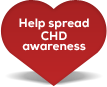 Help spread congenital heart defects awareness