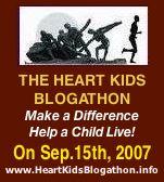 heart kids blogathon blog marathon